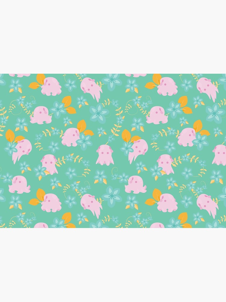Flap Back - Teal & Pink by goddammitstacey
