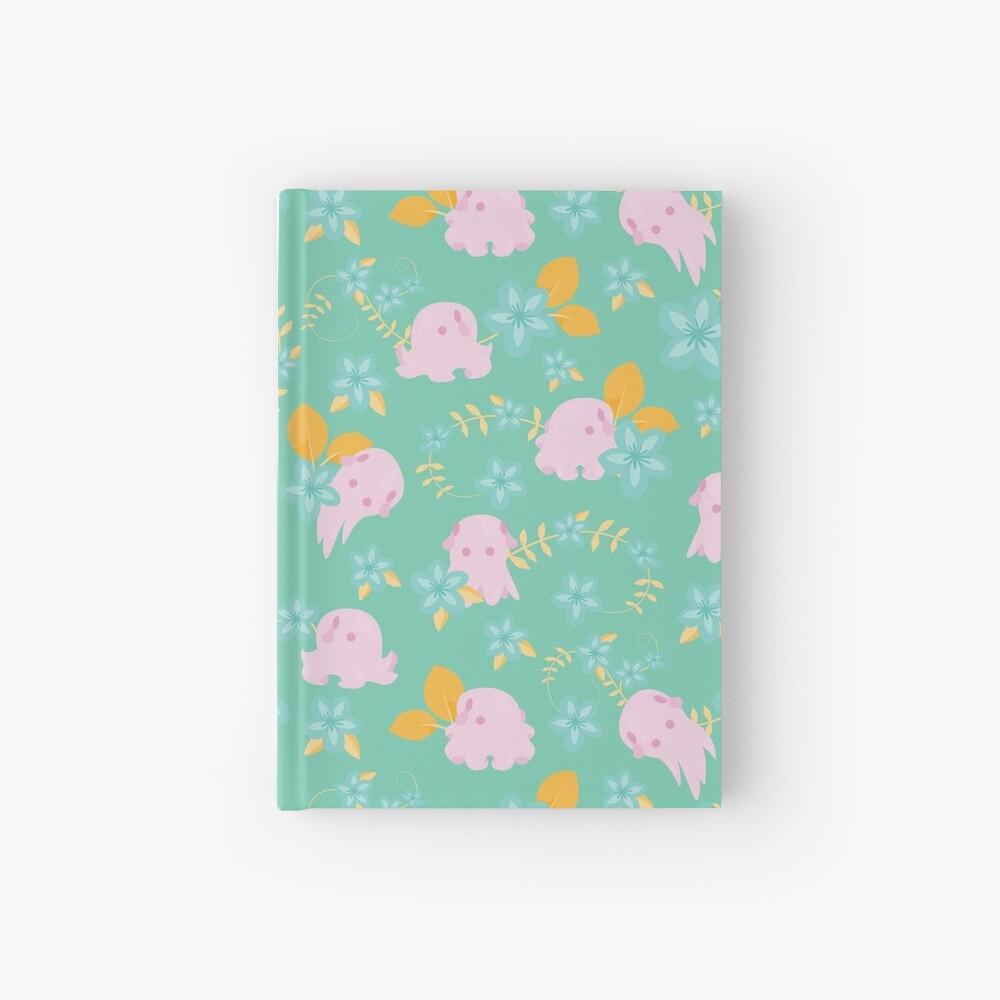 Flap Back - Teal & Pink Hardcover Journal