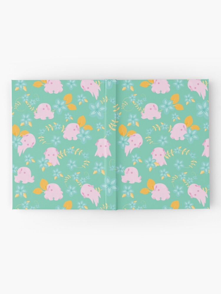 Alternate view of Flap Back - Teal & Pink Hardcover Journal