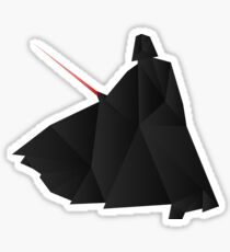 Star Wars:Darth Vader Origami   Sticker