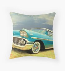 The Centerfold Throw Pillow