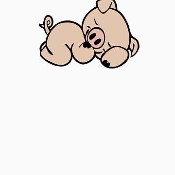 Sleeping piggy by mimmam
