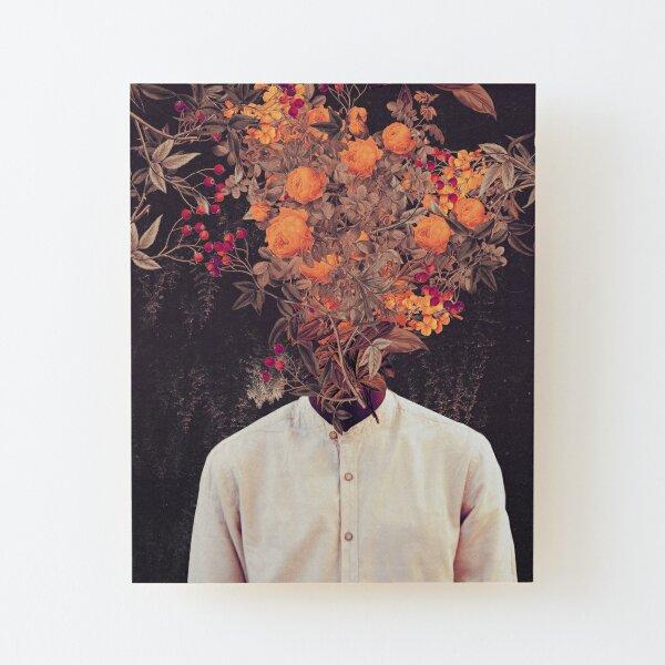 Bloom Wood Mounted Print