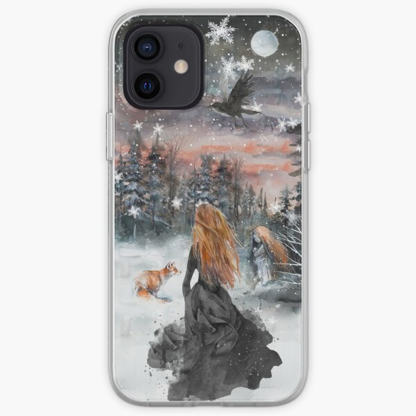 Winter fairy tale iPhone Soft Case