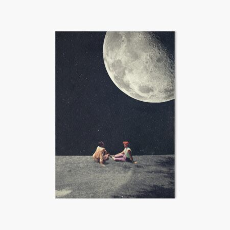I Gave You The Moon For A Smile Art Board Print