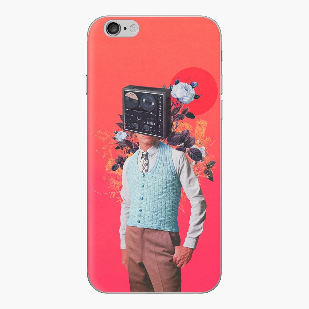Phonohead iPhone Skin