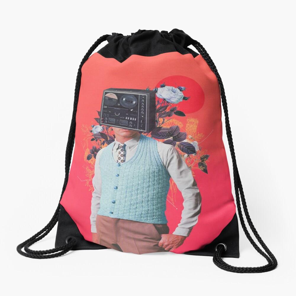 Phonohead Drawstring Bag