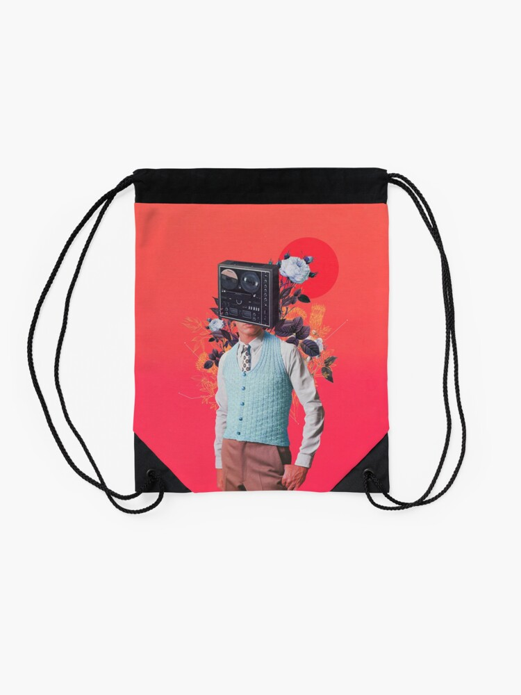 Alternate view of Phonohead Drawstring Bag