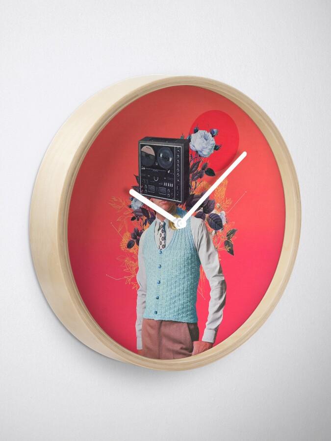 Alternate view of Phonohead Clock