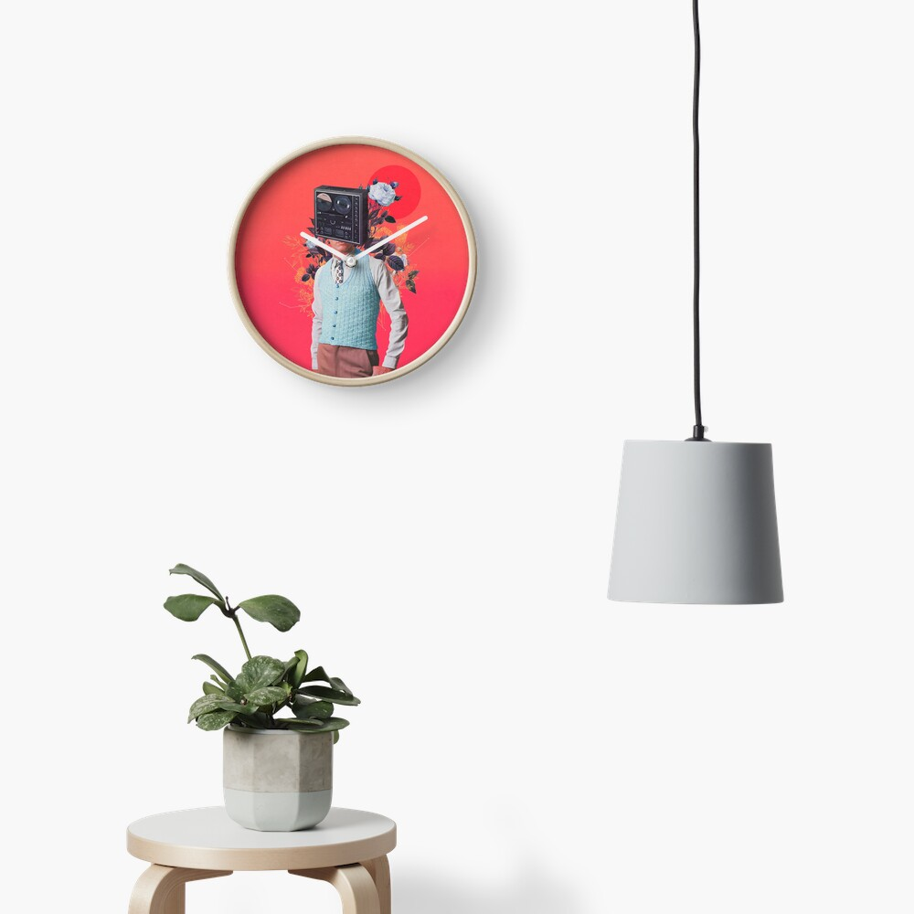 Phonohead Clock