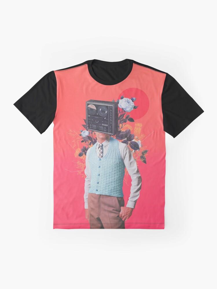 Alternate view of Phonohead Graphic T-Shirt