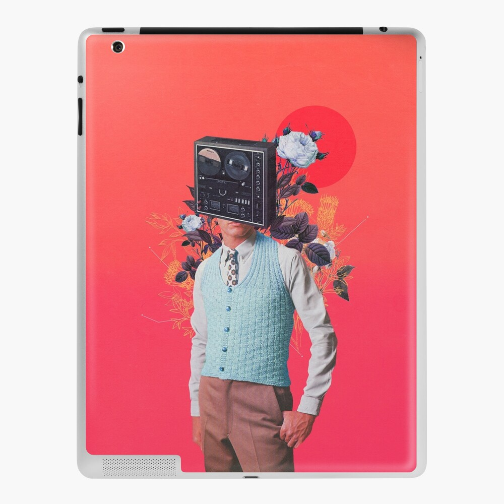 Phonohead iPad Case & Skin