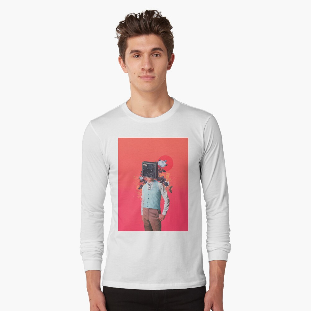 Phonohead Long Sleeve T-Shirt