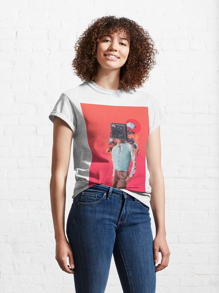 Alternate view of Phonohead Classic T-Shirt