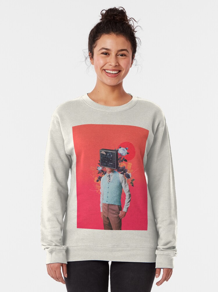 Alternate view of Phonohead Pullover Sweatshirt