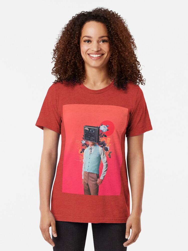 Alternate view of Phonohead Tri-blend T-Shirt