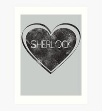 Sherlove Art Print