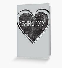 Sherlove Greeting Card