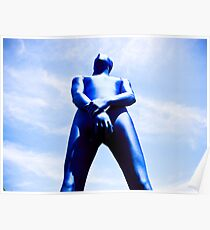 A Day in Blue Zentai lomo 06 Poster