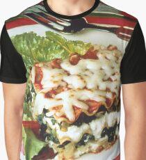 Lasagna Dinner Graphic T-Shirt