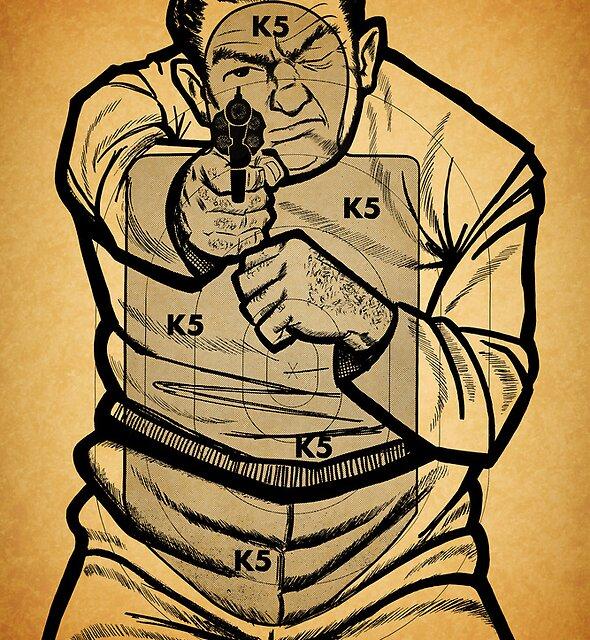 Bad Guy Target by Jeff Vorzimmer