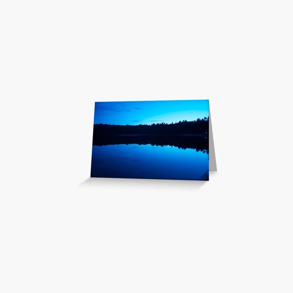 First Light at Walden Pond Greeting Card