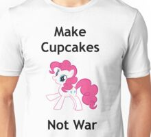 Make cupcakes not war Unisex T-Shirt