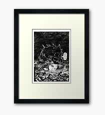 ABDUL ALHAZRED AND THE NECRONOMICON Framed Print