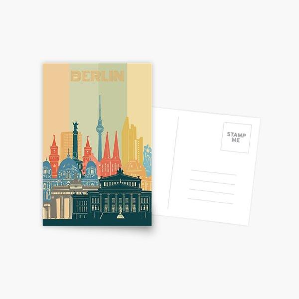 berlin skyline Postcard
