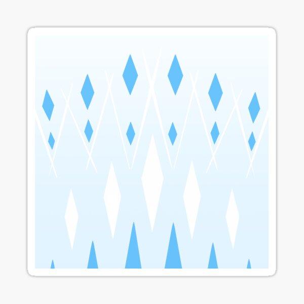Ice Fractals Sticker