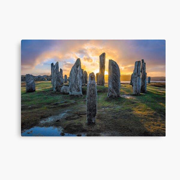 Callanish Stones at Sunset Canvas Print
