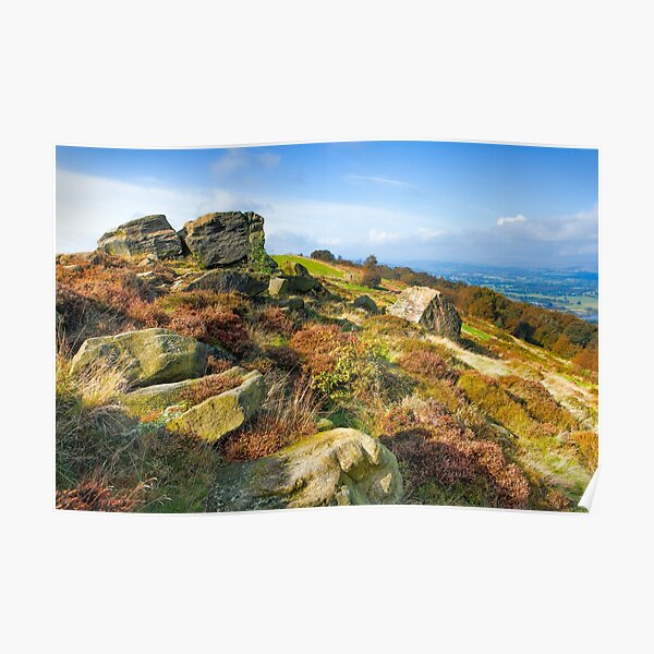 Otley Chevin - Surprise View Poster
