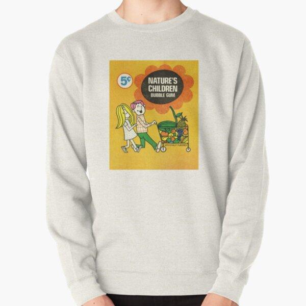 Nature's Children Bubble Gum Pullover Sweatshirt