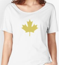 maple leaves  Women's Relaxed Fit T-Shirt