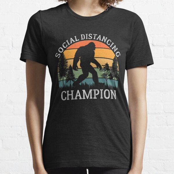 Social Distancing Champion Essential T-Shirt