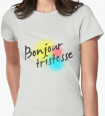 Bonjour Tristesse Womens Fitted T-Shirt