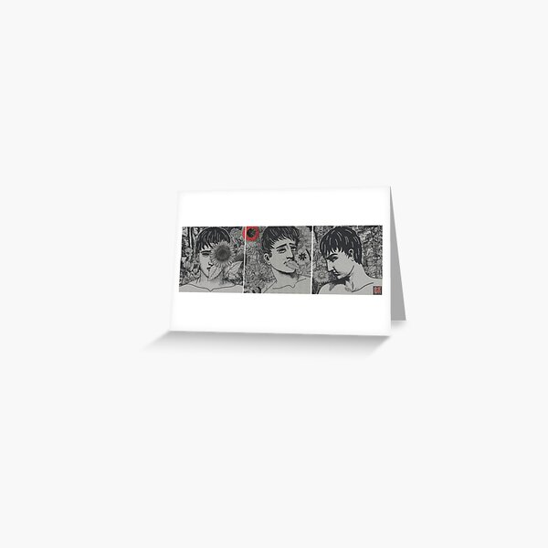 TRIPTYCH OF EMOTIONS (COVID-19) Greeting Card