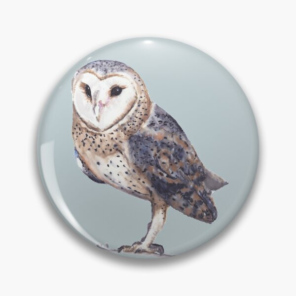 Snow owl Pin