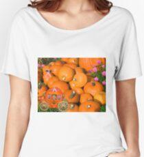 ╭∩╮( º.º )╭∩╮Ontario Pumpkins & Pumpkin Carriage ~ Raising Awareness-PILLOWS-TOTE BAGS,JOURNALS ECT.. ╭∩╮( º.º )╭∩╮  Women's Relaxed Fit T-Shirt