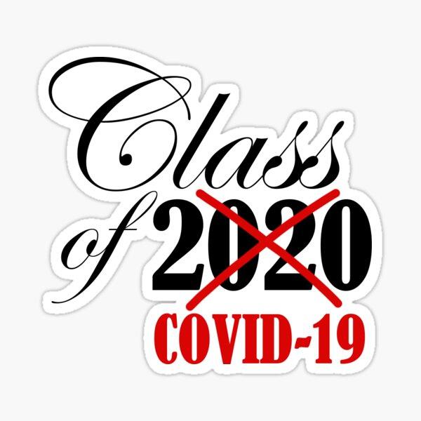 Class of 2020 COVID-19 Sticker Sticker