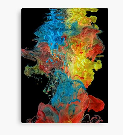 Color Splash Canvas Print