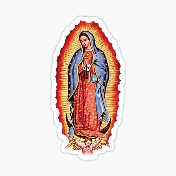 Nuestra Señora de Guadalupe Virgen María Pegatina