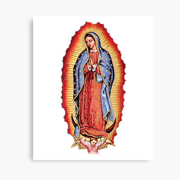 Our Lady of Guadalupe Virgin Mary Canvas Print