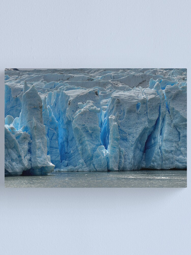Alternate view of The Face of Grey Glacier Canvas Print