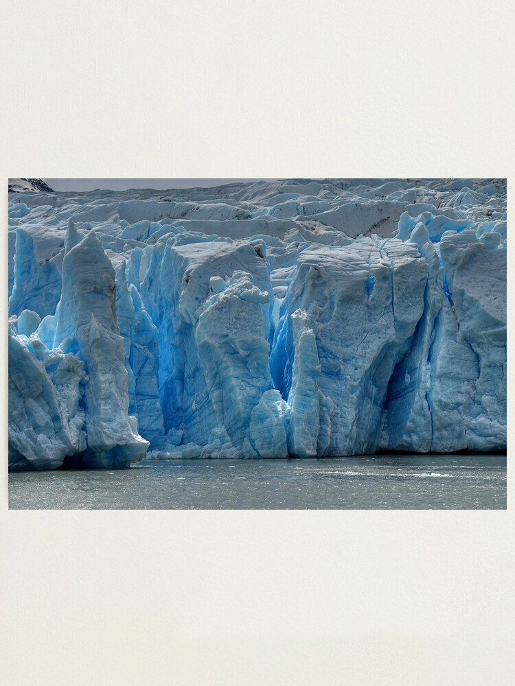 Alternate view of The Face of Grey Glacier Photographic Print