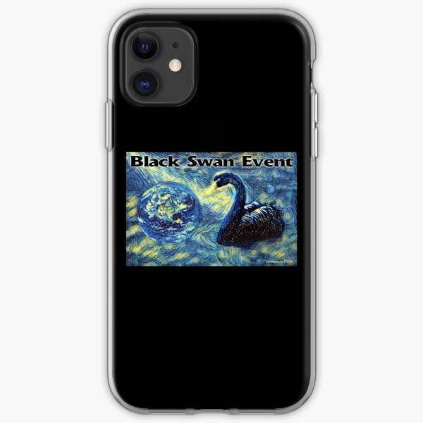 Black Swan Event iPhone Soft Case