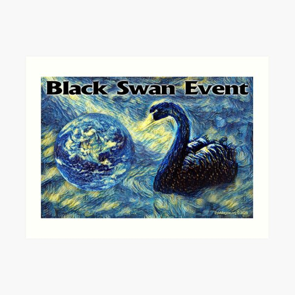 Black Swan Event Art Print