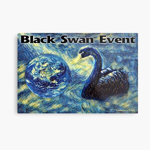 Black Swan Event Metal Print