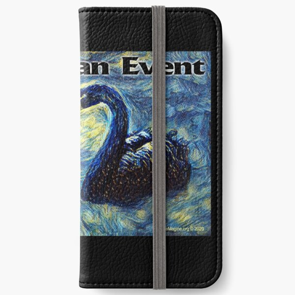 Black Swan Event iPhone Wallet