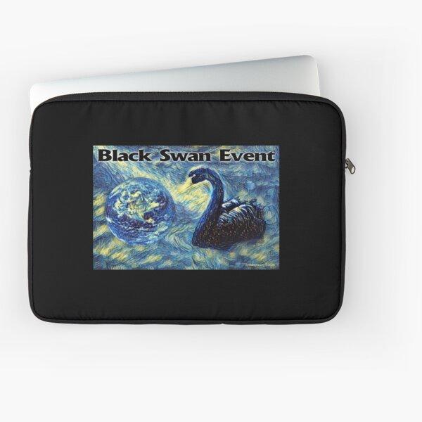Black Swan Event Laptop Sleeve